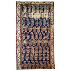 Handmade Antique Collectible Northwest Style Runner, 1830s, 1B549