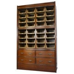 Large Haberdashery Cabinet by E Pollard & Co, circa 1910