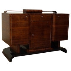 Art Deco Chest of Drawers Nut from 1930