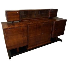 Art Deco Rosewood Buffet from 1930 by Franciszek Najder