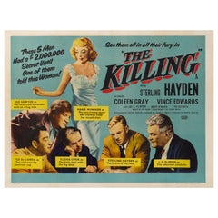 """The Killing"" Original 1956 British Film Poster"