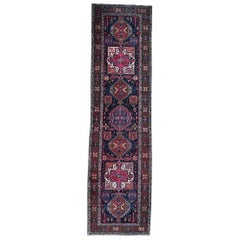 Antique Caucasian Style Runner