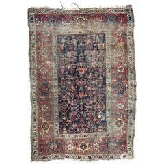 Antique Distressed Turkish Rug