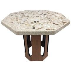 Harvey Probber Terrazzo Top Side Table