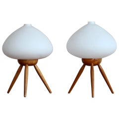 Set of 2 Table Lamps by ULUV, Space Age, 1960s