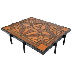 American Art Deco Coffee Table, 1920