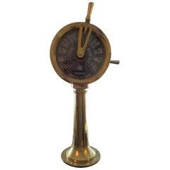 Miniature Brass Ships Telegraph, circa 1920