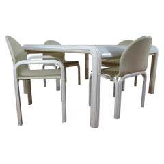 Midcentury Dining Set Orsay Designed by Gae Aulenti for Knoll International