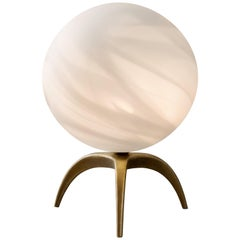 Jupiter Blown Glass Table Lamp, Ludovic Clément d'Armont