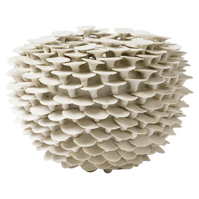 """Porcelain Sculpture """"Solctice"""", Exclusivity for Aurélien Gendras For Sale"""