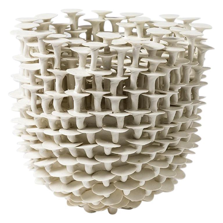 """Porcelain Sculpture  Entitled """" Solctice """", Exclusivity for Aurélien Gendras For Sale"""
