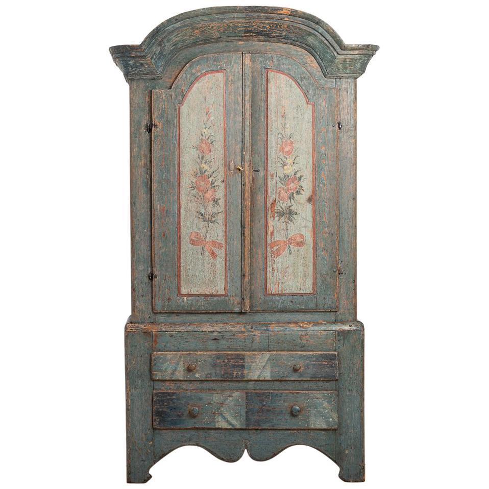 Turn of the Century 18th-19th Swedish Rococo Cabinet