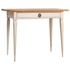 Mid-19th Century Gustavian Styled Writing Table