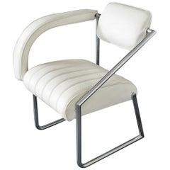 """Easy Chair Designed by Eileen Gray """"Non Conformist"""", 1926,Vereinigte Werkstätte"""