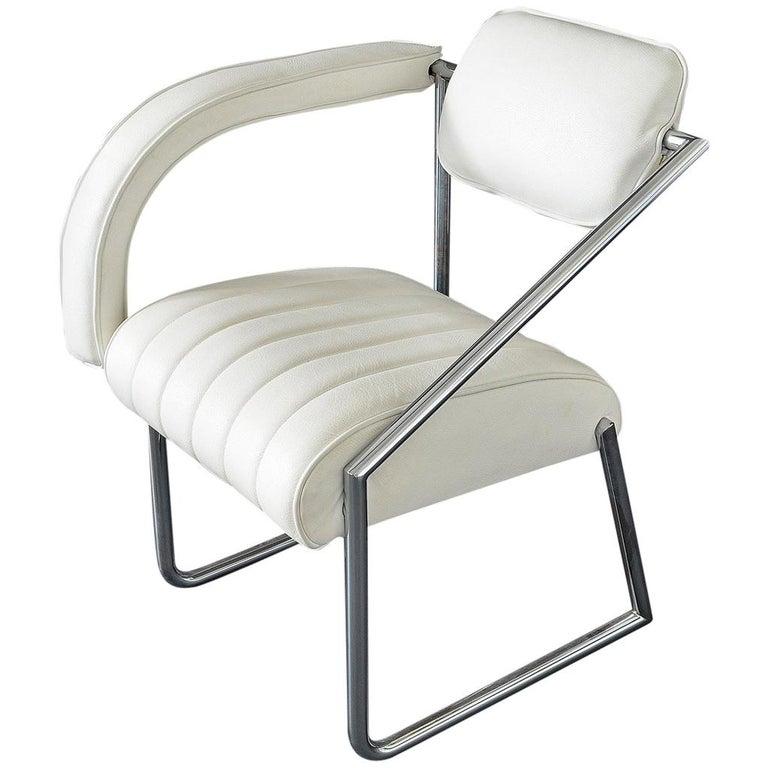 """Easy Chair Designed by Eileen Gray """"Non Conformist"""", 1926,Vereinigte Werkstätte For Sale"""
