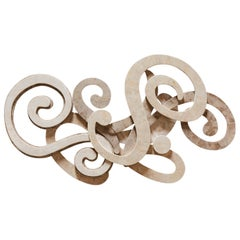 Swirl Tessellated Stone Wall Sculpture