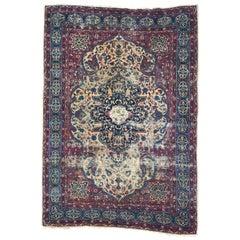 Antique Kerman Style Rug