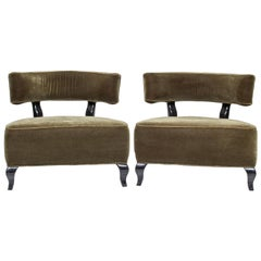 Pair of Large Deco Chairs