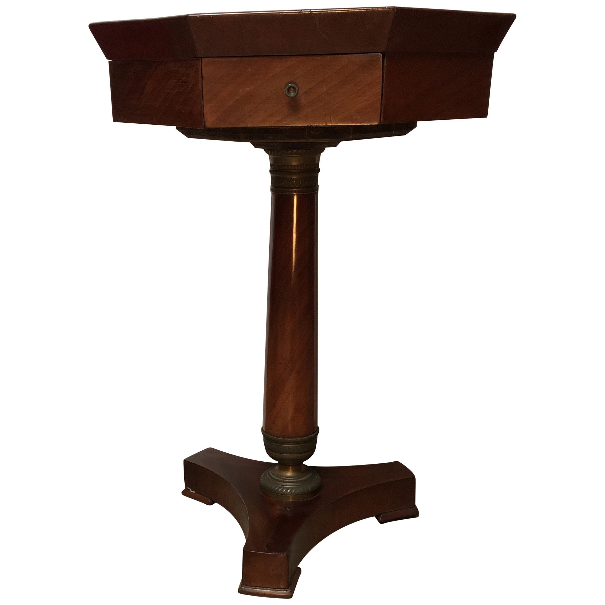 French Empire Style Mahogany Table