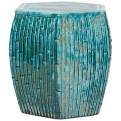 Turquoise Color Garden Seat