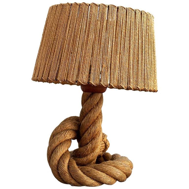 Audoux Minet Knot Lamp For Sale