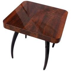 Art Deco Table H-259 J.Halabala Nut from 1960