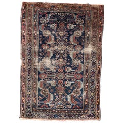 Antique Turkish Farahan Style Fine Rug