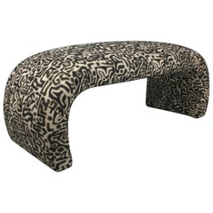 Tribal Tapestry Waterfall Bench