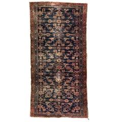 Antique Little Turkish Mahal Rug