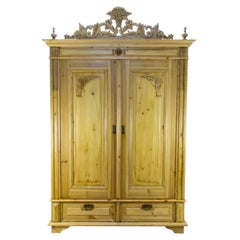 Baltic Pine Two-Door Armoire