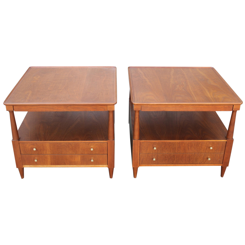 Pair of Tables by John Widdicomb