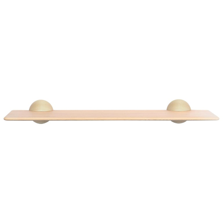 Scandinavian Contemporary Natural Klot 90, Side Table, Shelf For Sale