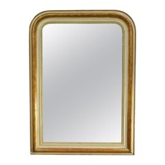 Antique French Partially Gold Gilt Louis Philippe Mirror