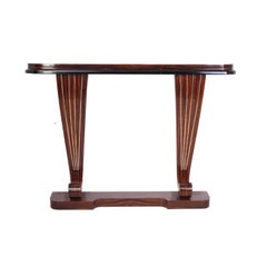 Art Deco Macassar Ebony Console Table