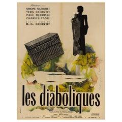 Les Diaboliques, Original 1955 French Film Poster