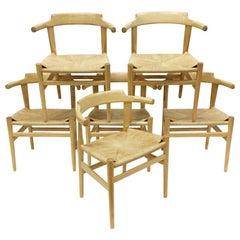 Hans Wenger Chairs, PP 68 for PP Mobler, Denmark, 1987