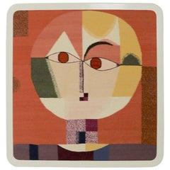 Wool Tapestry Version of Paul Klee Senecio
