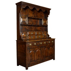 18th Century Style Welsh Canopy Dresser