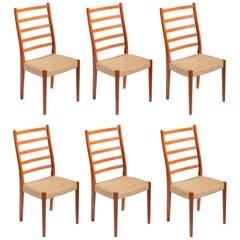 6 Teak Dining Chairs by Svegards Markaryd, Sweden