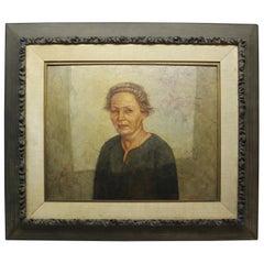 Portrait of a Woman by Francis L. Woodahl