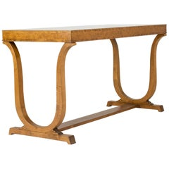 1920s Swedish Grace Library Table by Carl Malmsten