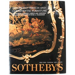 Sotheby's, Important French and Continental Furniture, Estate Peter A. Paanakker