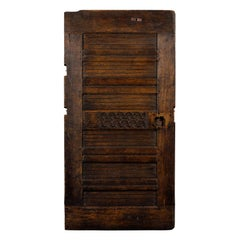 Early Rare English Door, circa 1750s