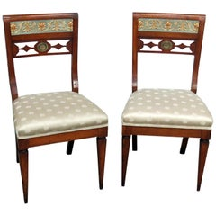 Pair of Antique Austrian Side Chairs