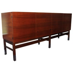 Vintage Rosewood Sideboard by Pierre Guariche for Huchers Minvielle