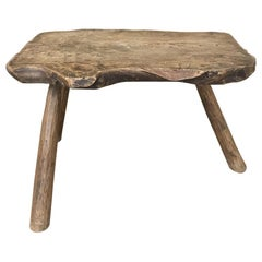 18th Century Rustic Coffee Table or Bench