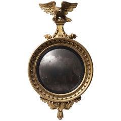 Ancient Regency Era Wall Mirror, 1811-1820
