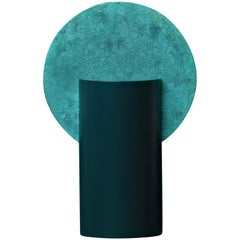 Limited Edition Modern Malevich Vase CSL2 by NOOM in Oxidized Copper and Steel