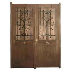 Pair of French Chateau Doors