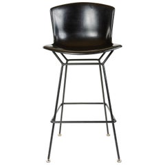 1960s Fiberglass Shell Barstool by Harry Bertoia for Knoll